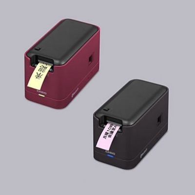 貼れる専用テープにメモを印刷 ...